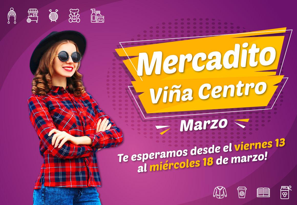 VUELVE MERCADITO VIÑA CENTRO!
