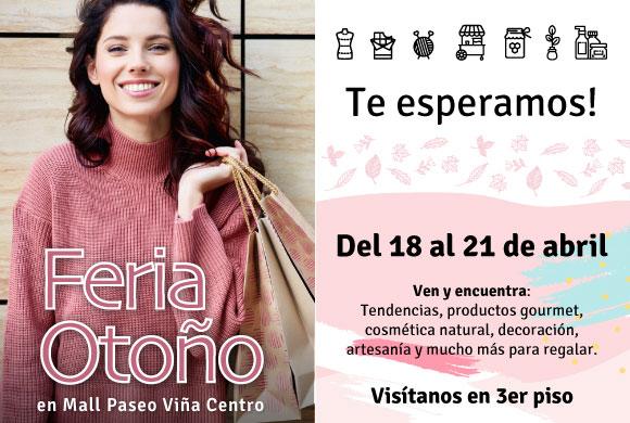 Feria Otoño Mall Paseo Viña Centro